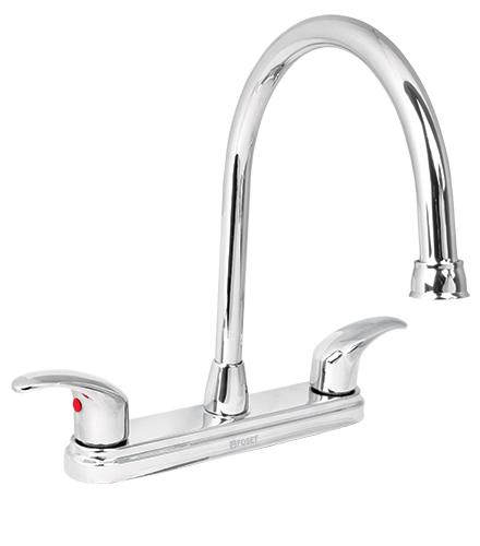 49687 aqf 82 truper mezcladora fregadero manerales for Como reparar la llave mezcladora de la ducha