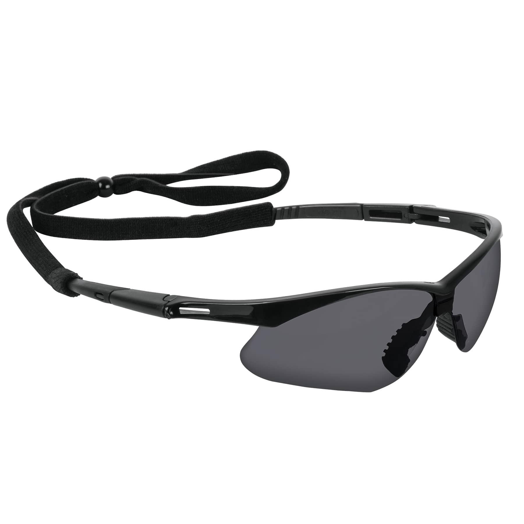 Truper - Lentes mica gris antiempaño con sujeta lentes, Sport