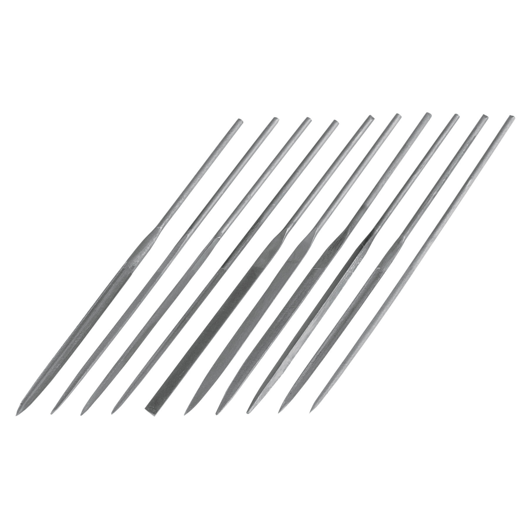 Truper - Limas para joyero, 10 piezas